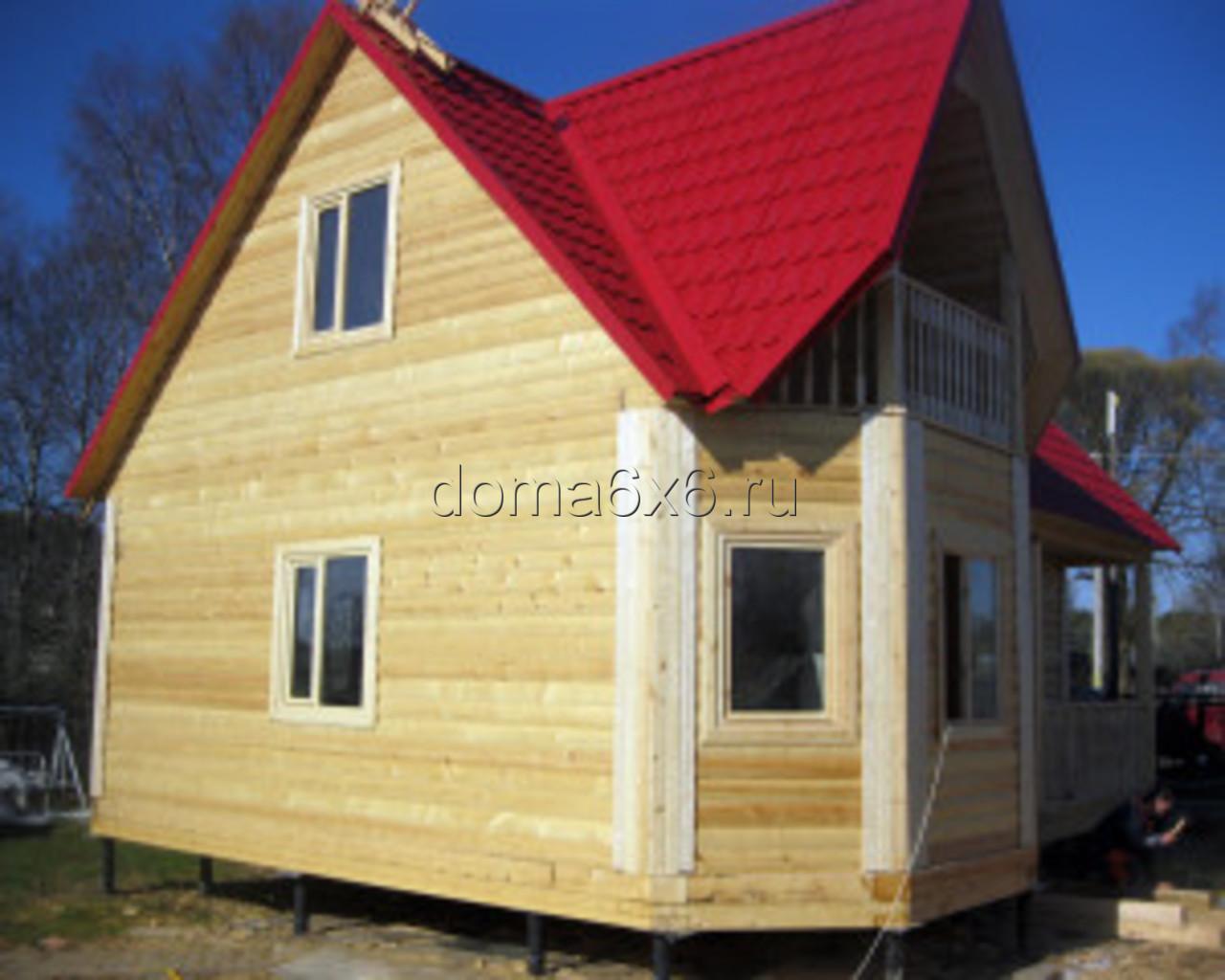 Строительство дома из бруса в Малой Вишере - 5