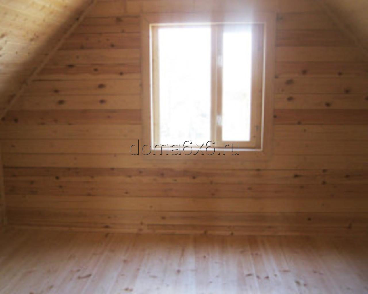 Строительство дома из бруса в Малой Вишере -  отделка