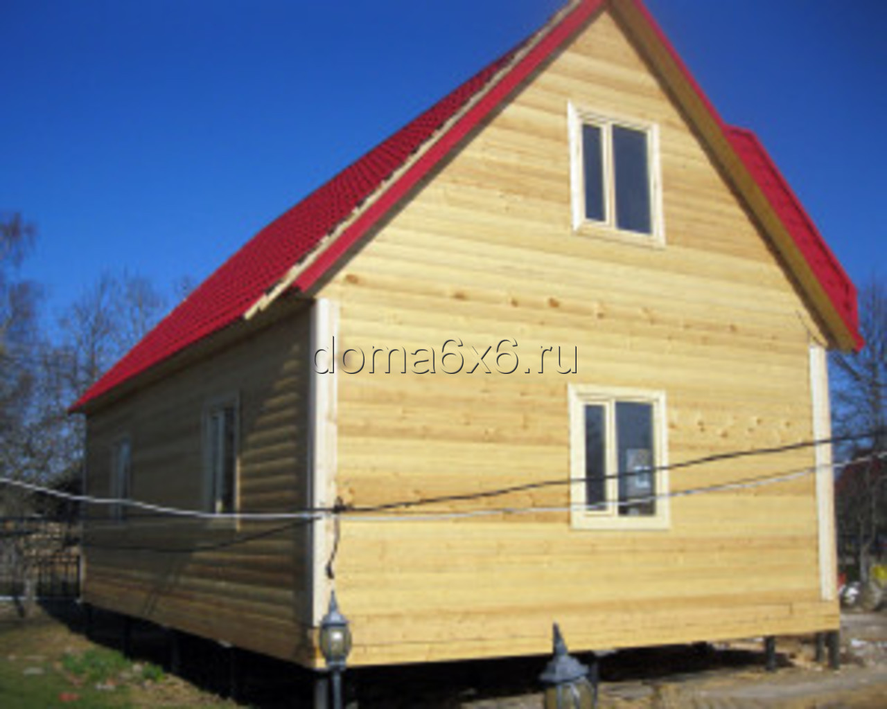 Строительство дома из бруса в Малой Вишере - 7