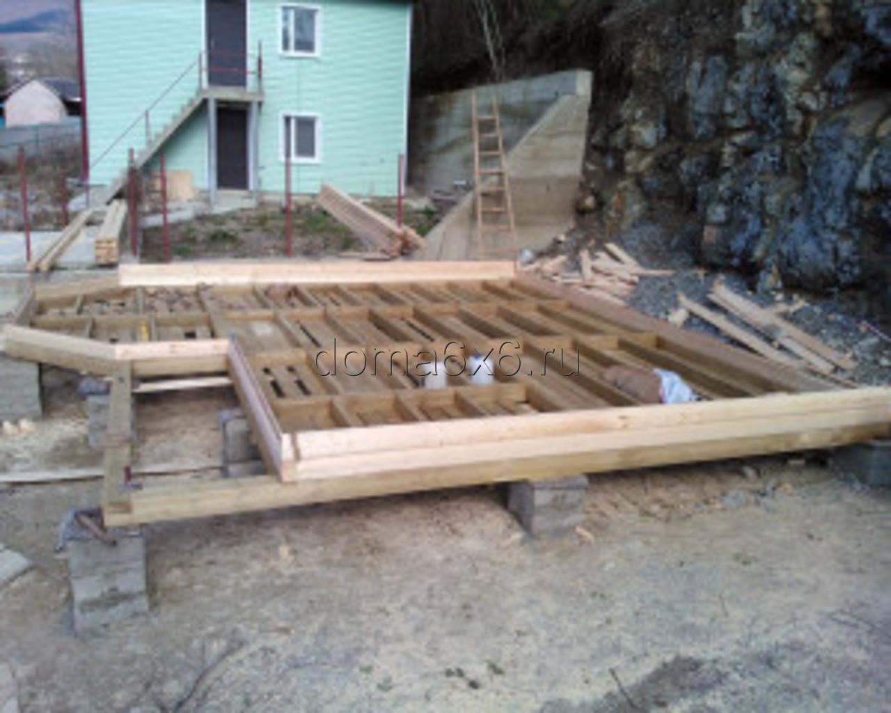 Строительство дома из бруса в Туапсе