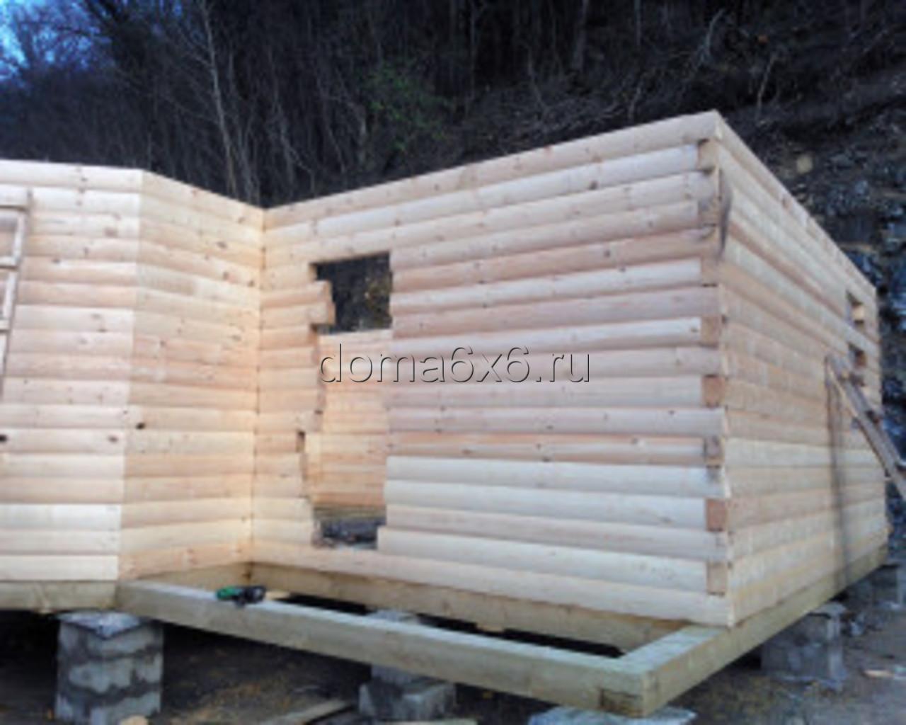Строительство дома из бруса в Туапсе - 2