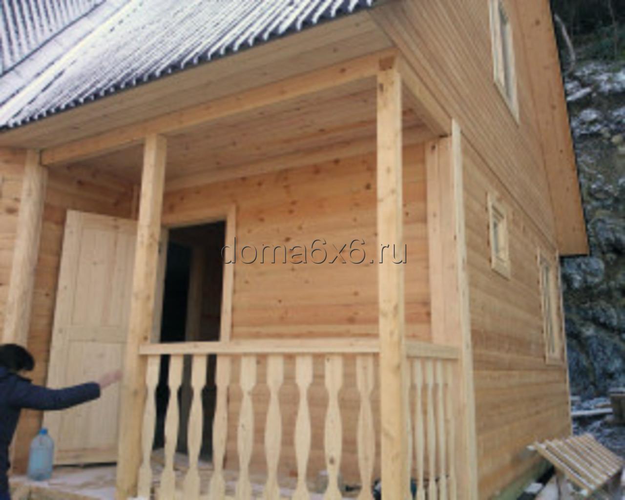 Строительство дома из бруса в Туапсе - 6
