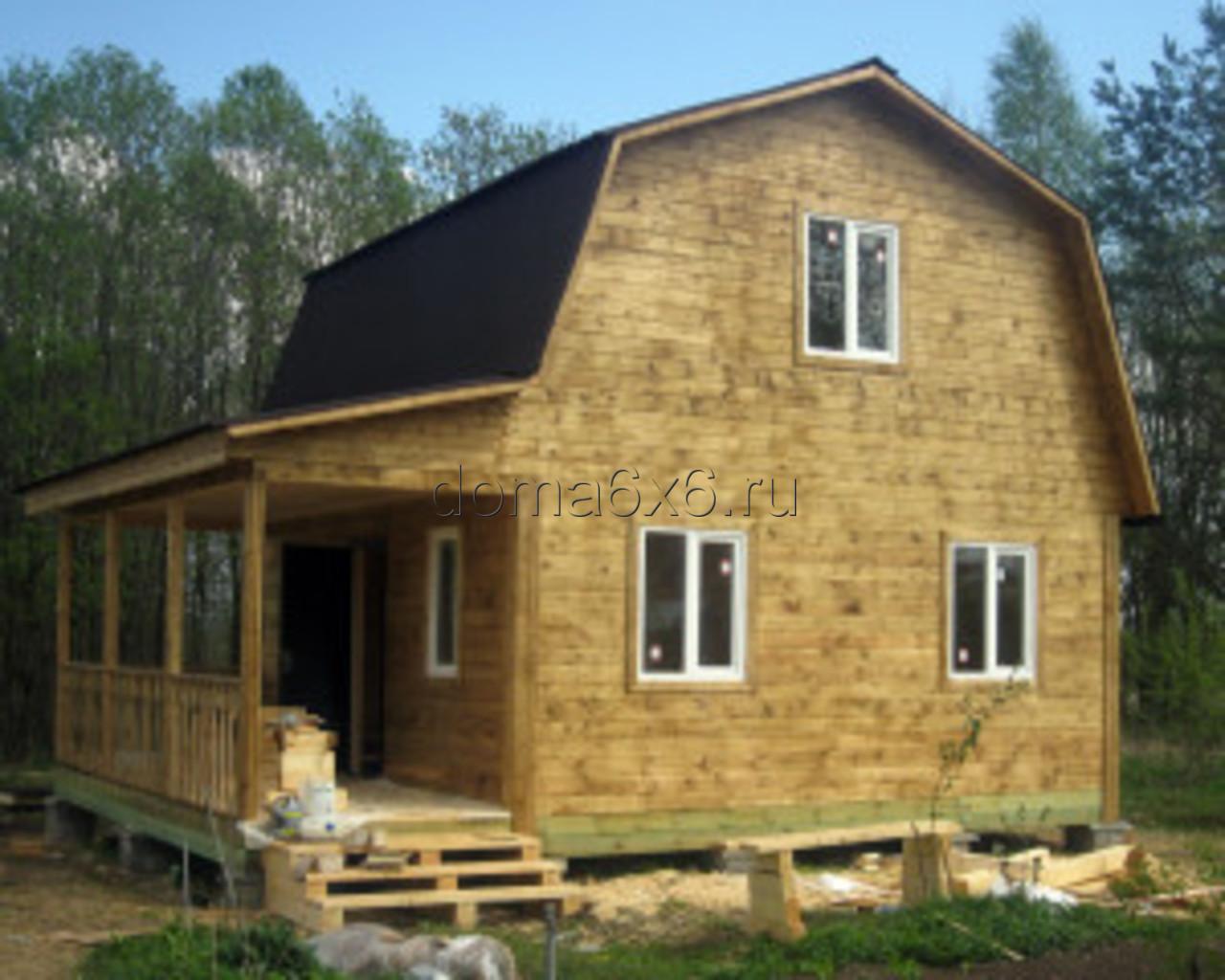Строительство дома из бруса в д.Сельково