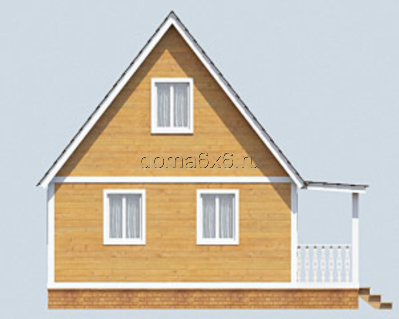 "Проект дома из бруса ""Авдий"" - 1"