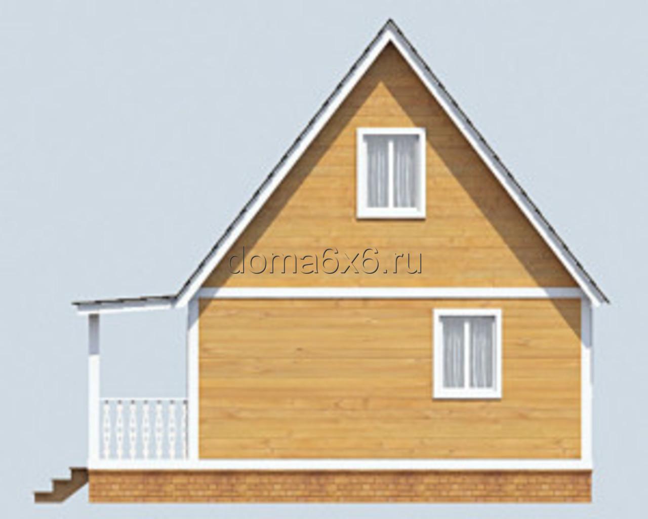 "Проект дома из бруса ""Авдий"" - 3"