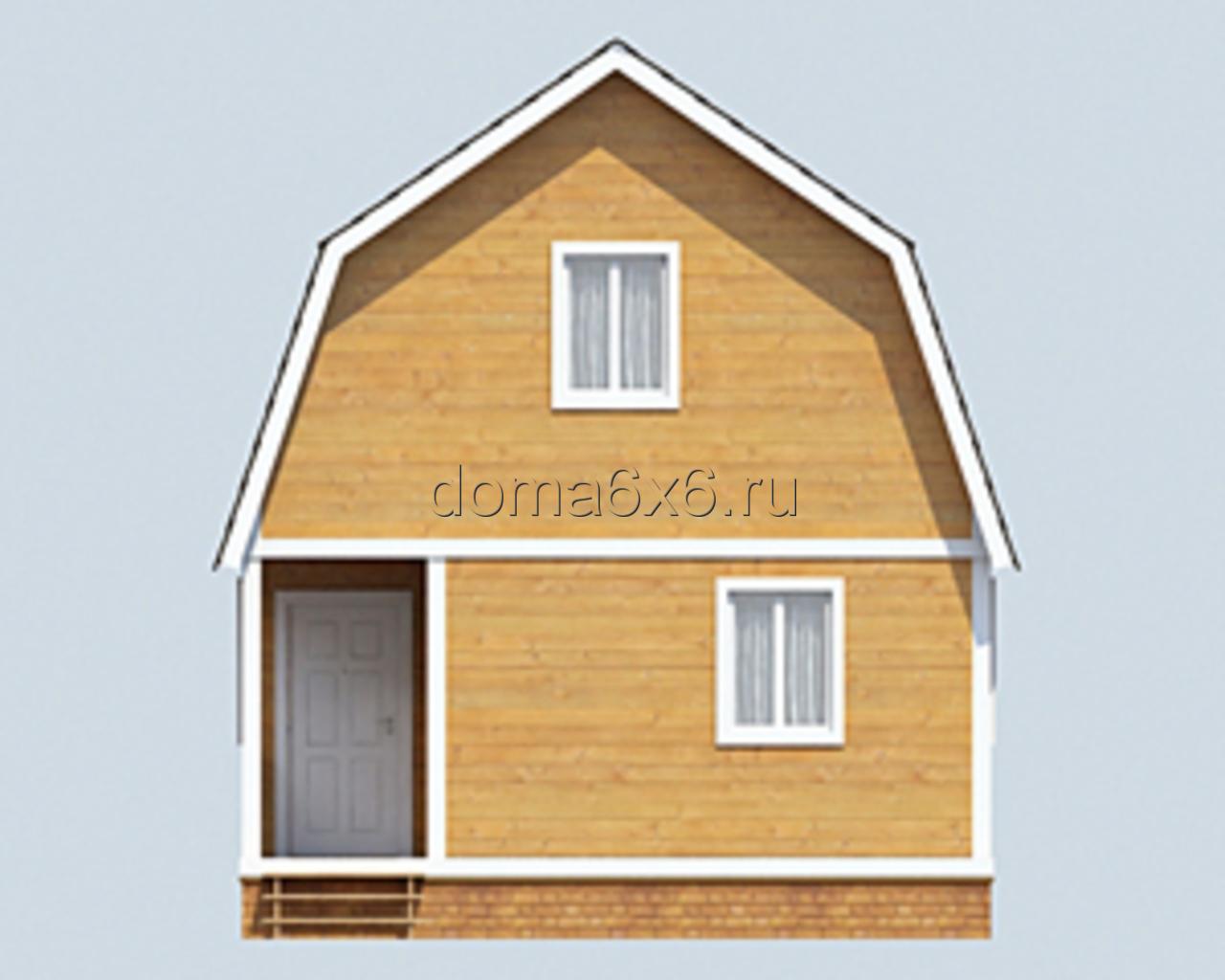 Проект дома с внутренним дизайном