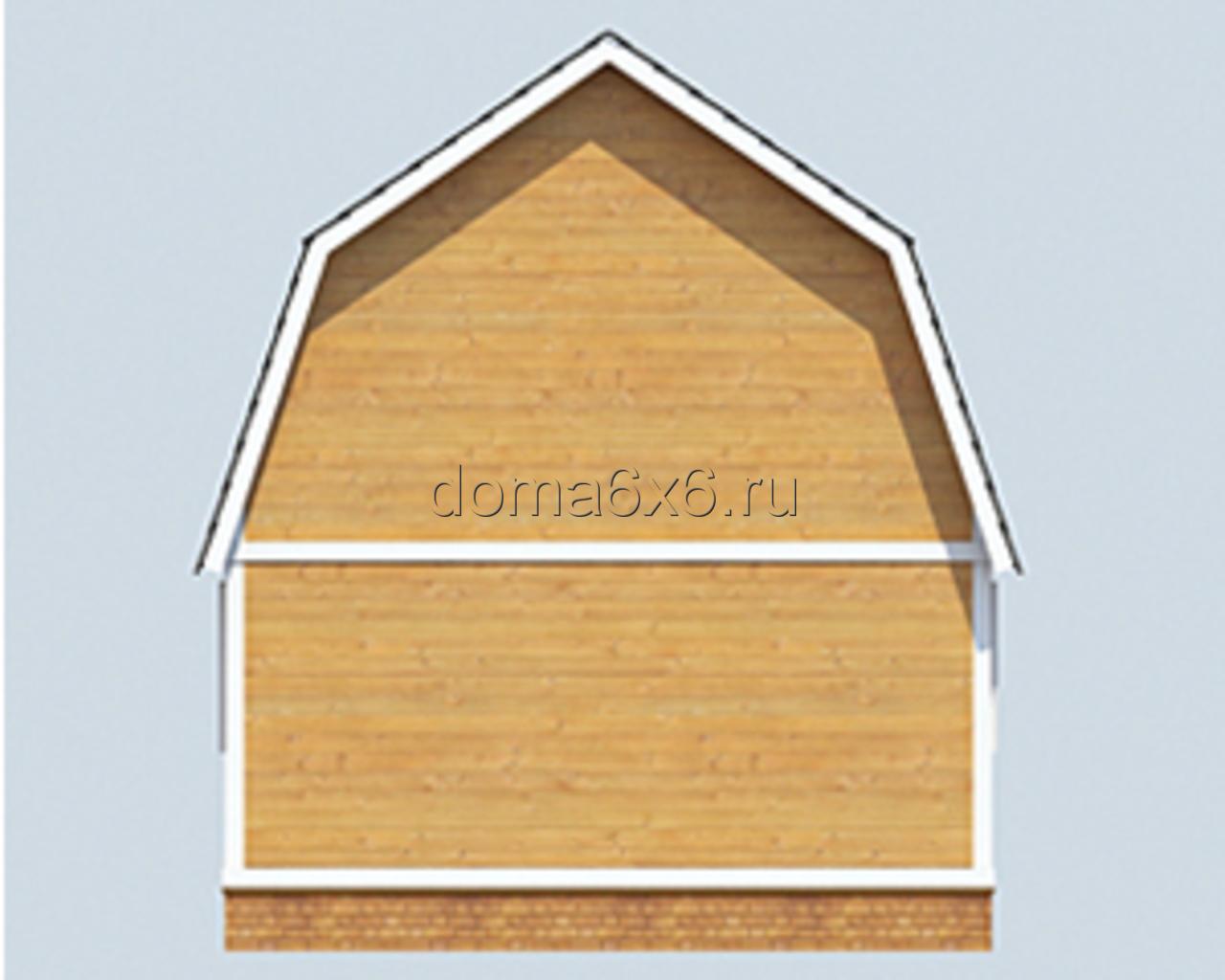 "Проект дома из бруса ""Игнат"" - 3"