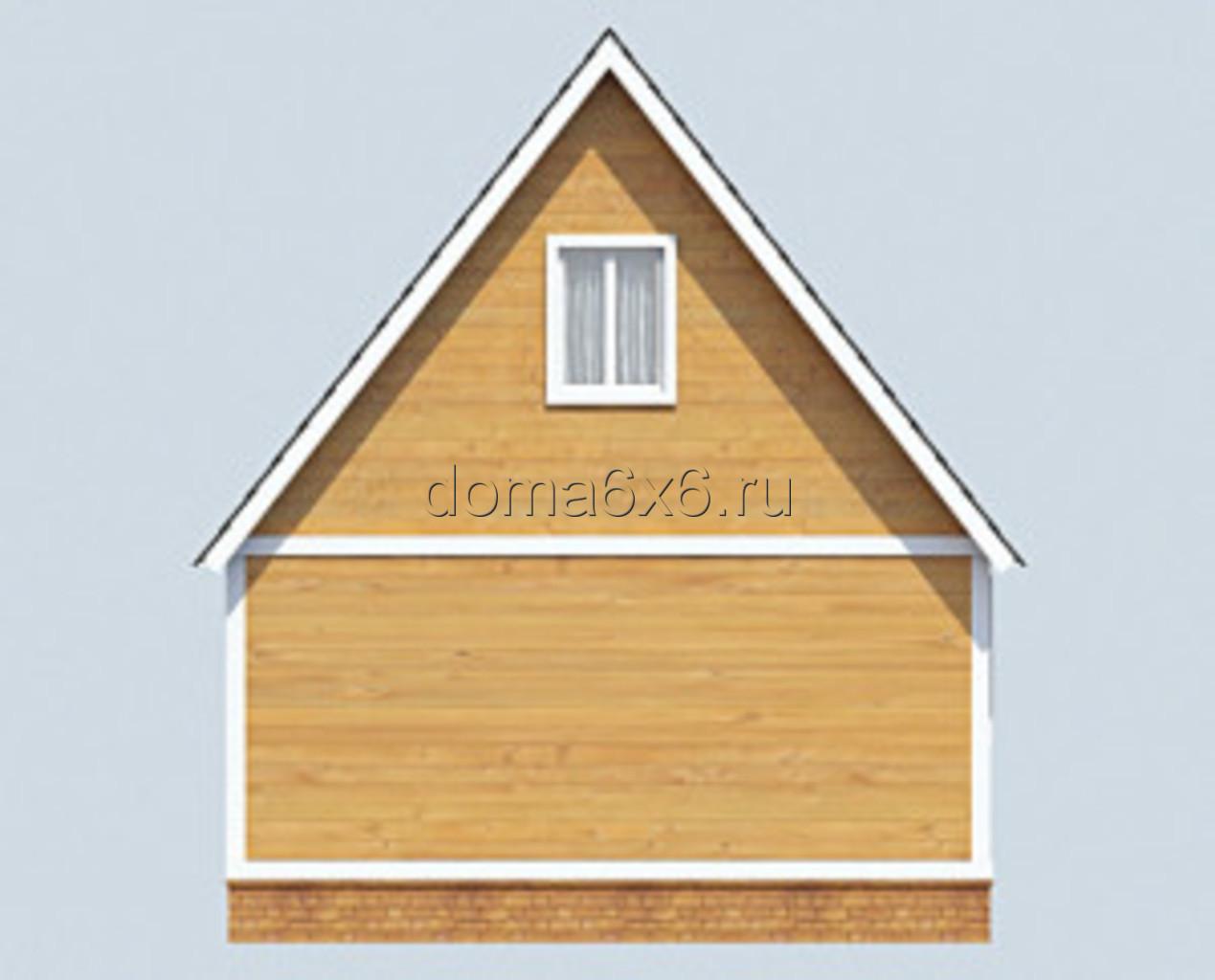 """Проект дома из бруса """"Марк"""" - 3"""