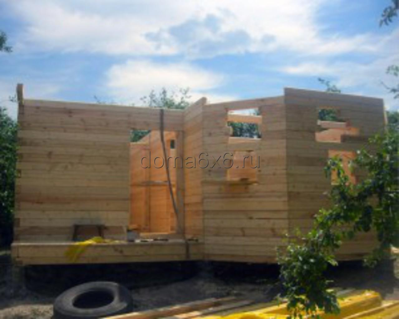 Строительство дома из бруса в Рязани - 1