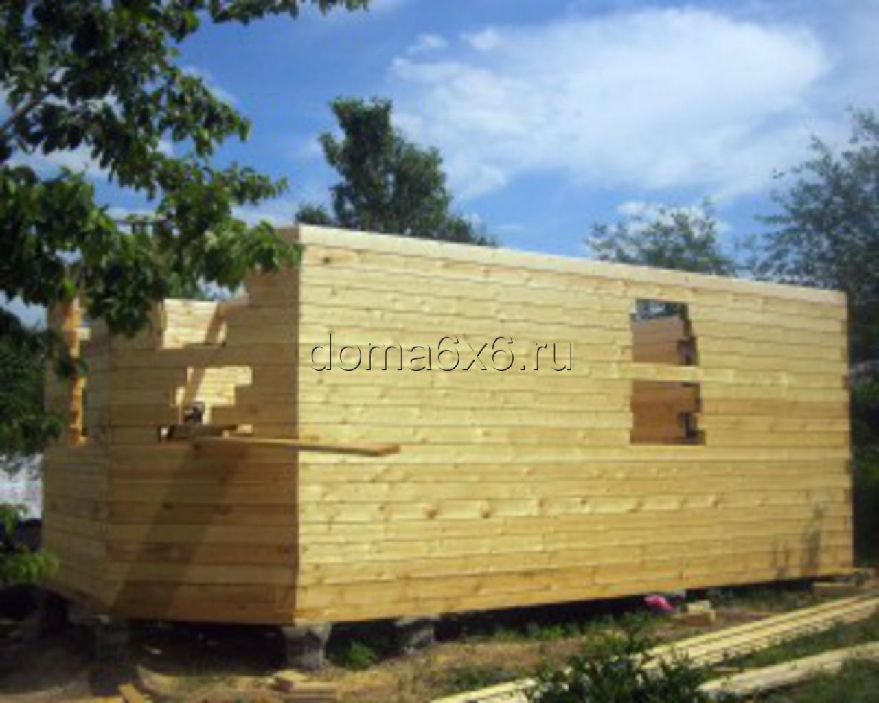 Строительство дома из бруса в Рязани - 2