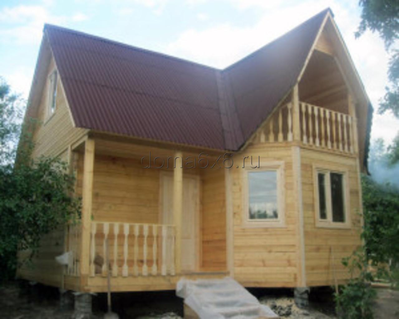 Строительство дома из бруса в Рязани - 5