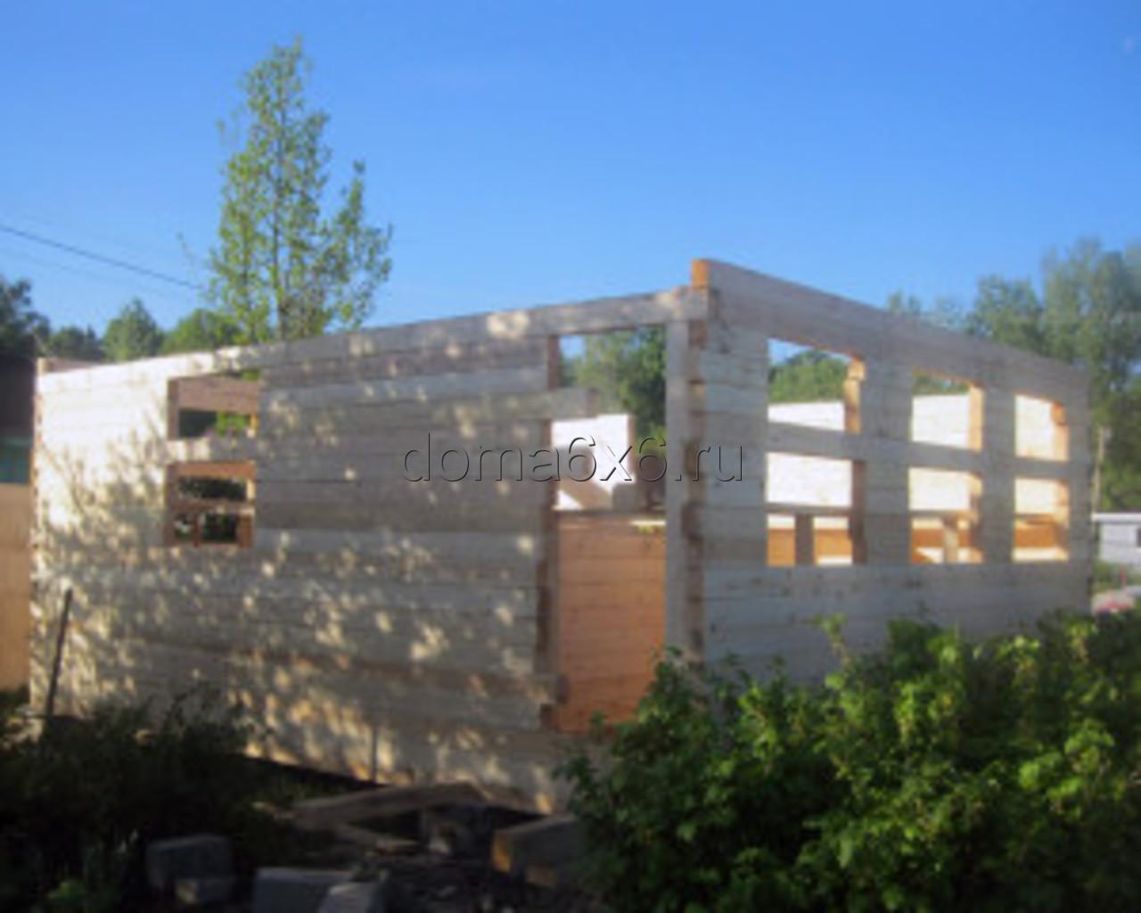 Строительство дома из бруса в Туле
