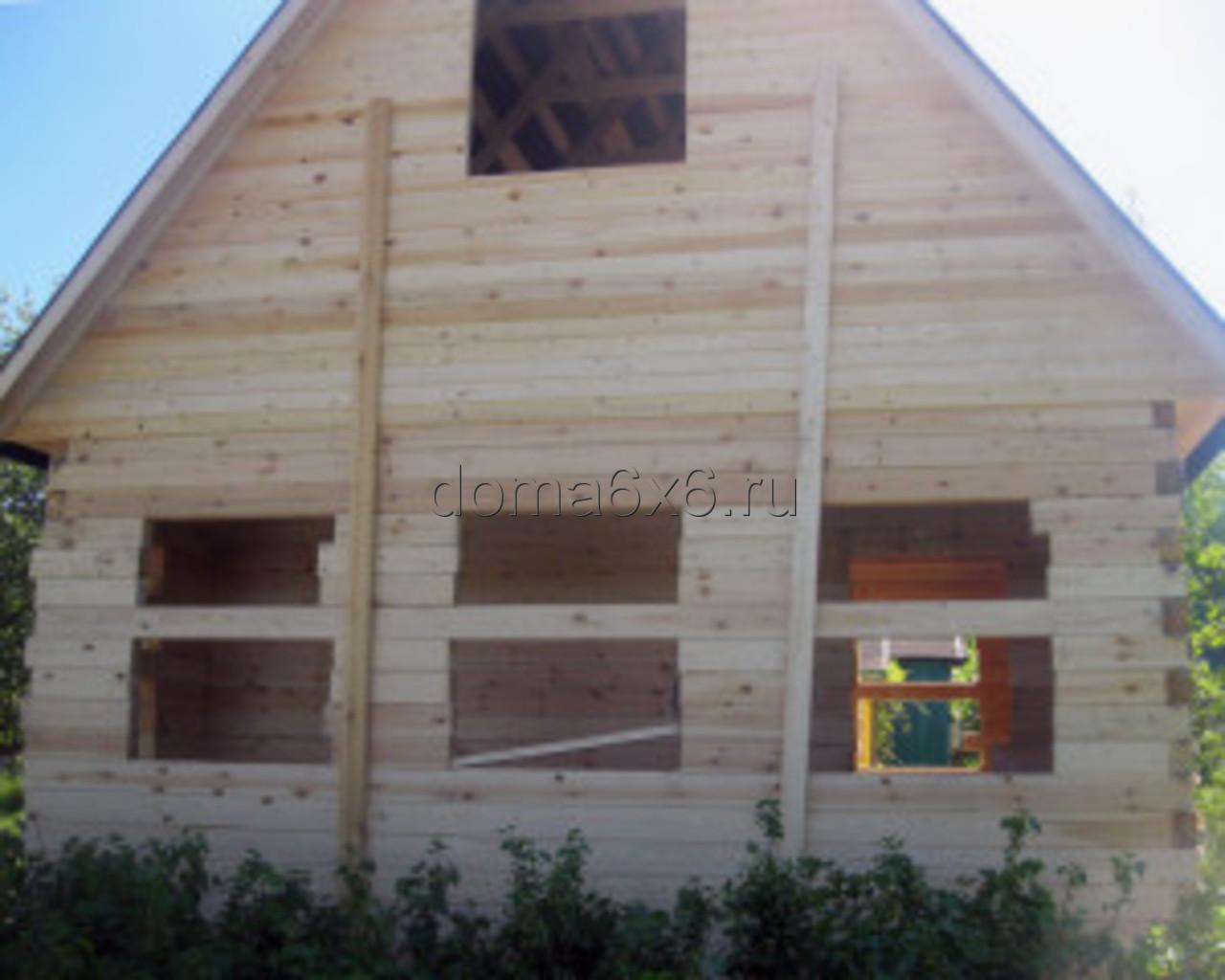 Строительство дома из бруса в Туле - 1