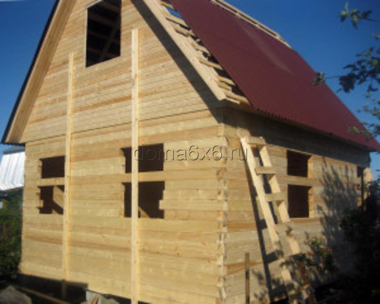 Строительство дома из бруса в Туле - 2