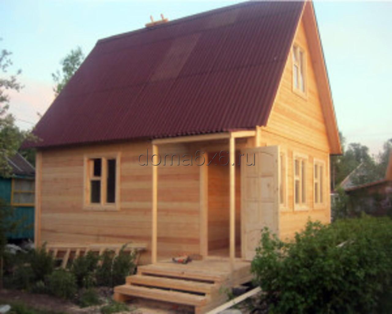Строительство дома из бруса в Туле - 3