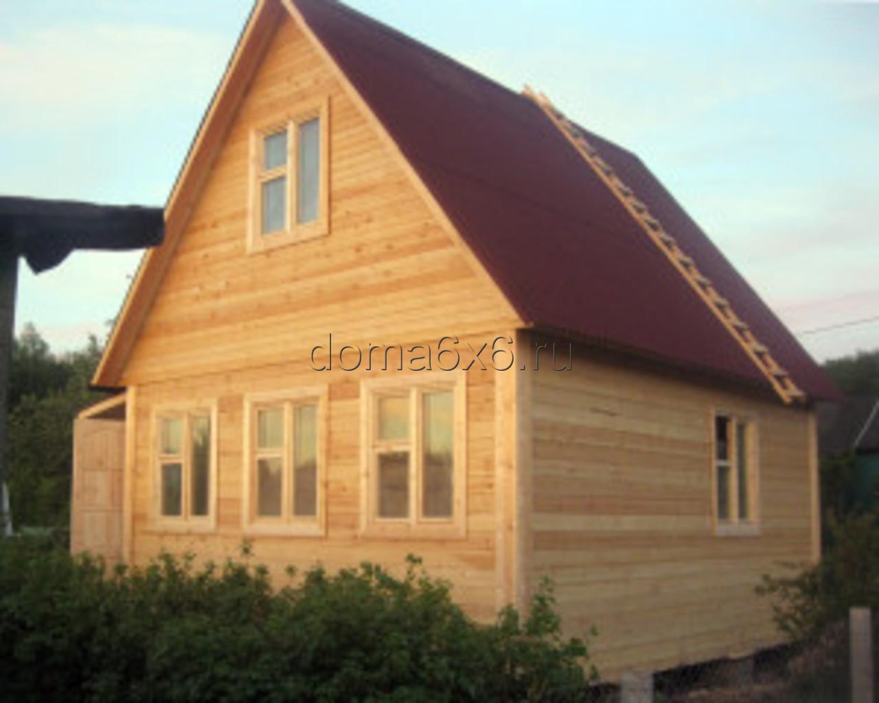 Строительство дома из бруса в Туле - 4