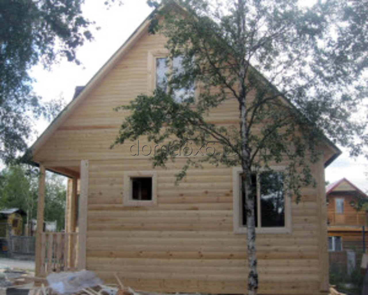 Строительство дома из бруса в Мурманске - 1