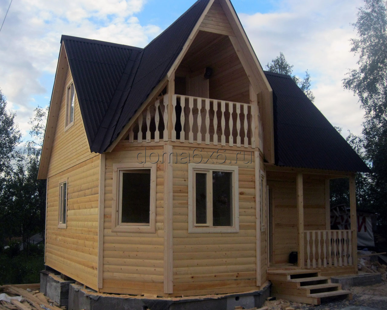 Построить пристройку для дома из бруса