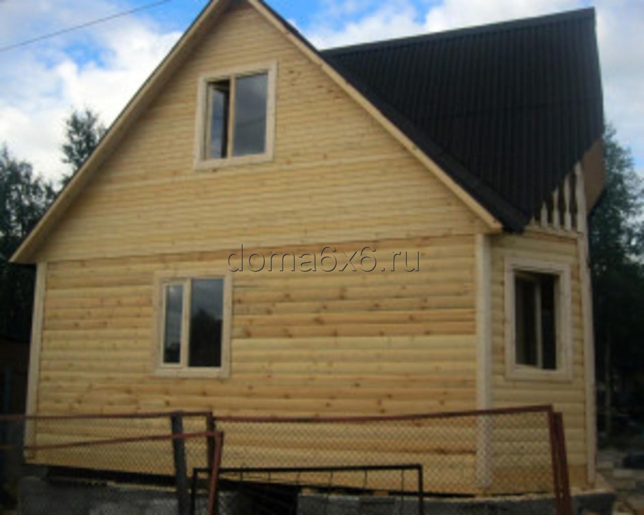 Строительство дома из бруса в Мурманске - 5