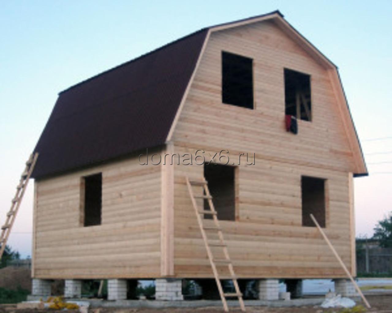 Строительство дома из бруса в  Тверской области - 2