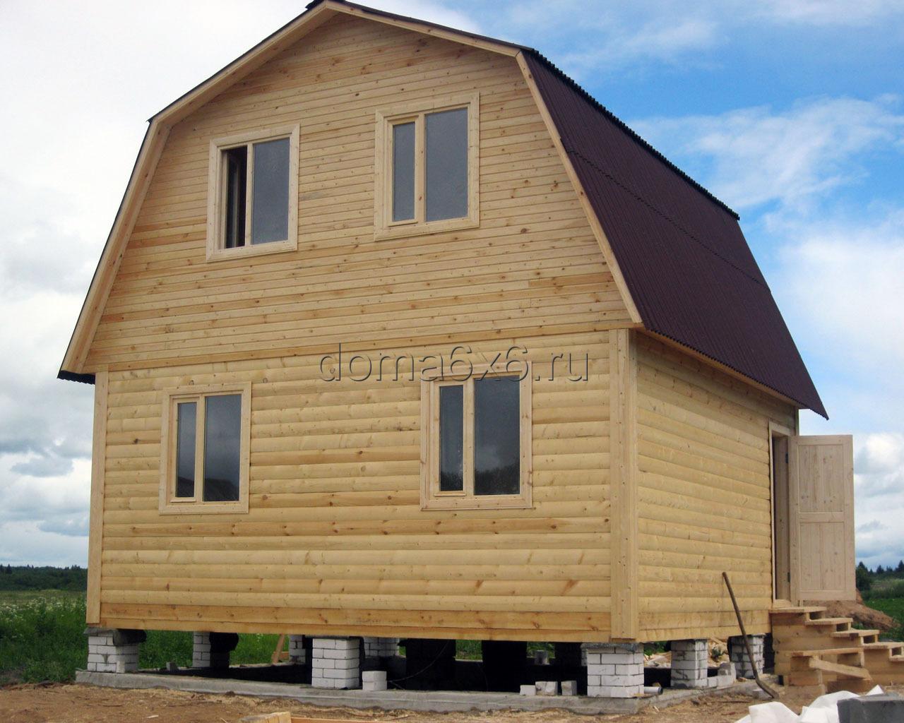 Дом своими руками под ключ