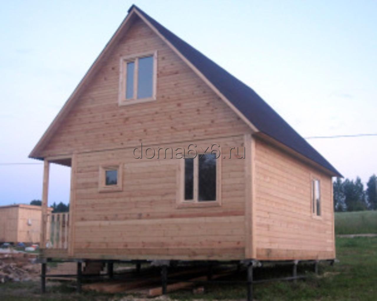 Строительство дома из бруса в Луге - 2