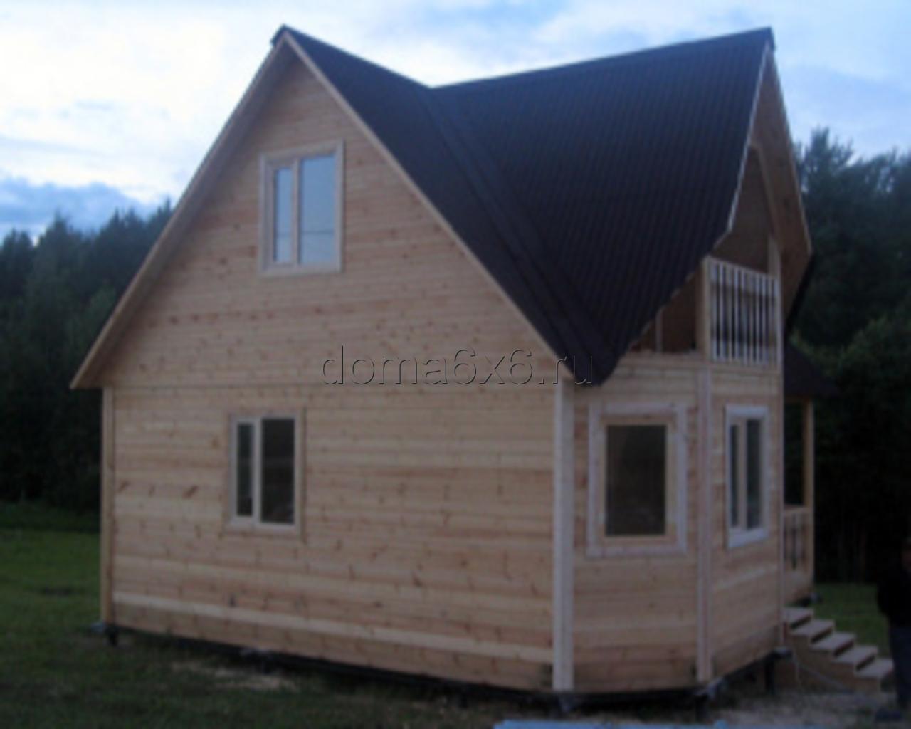 Строительство дома из бруса в Луге - 3