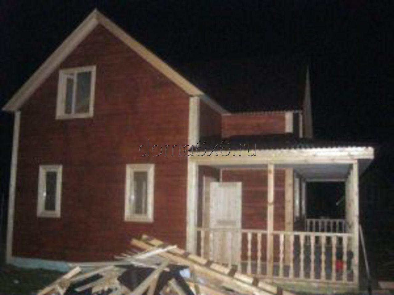 Строительство дома из бруса в д.Засколье - 7