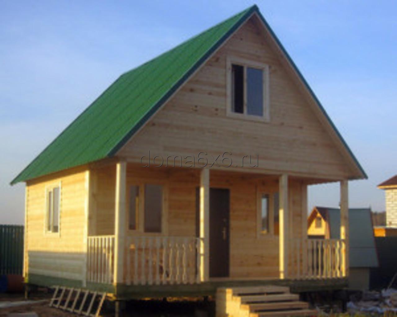 Строительство дома из бруса Марк в Лосино-Петровском - 2