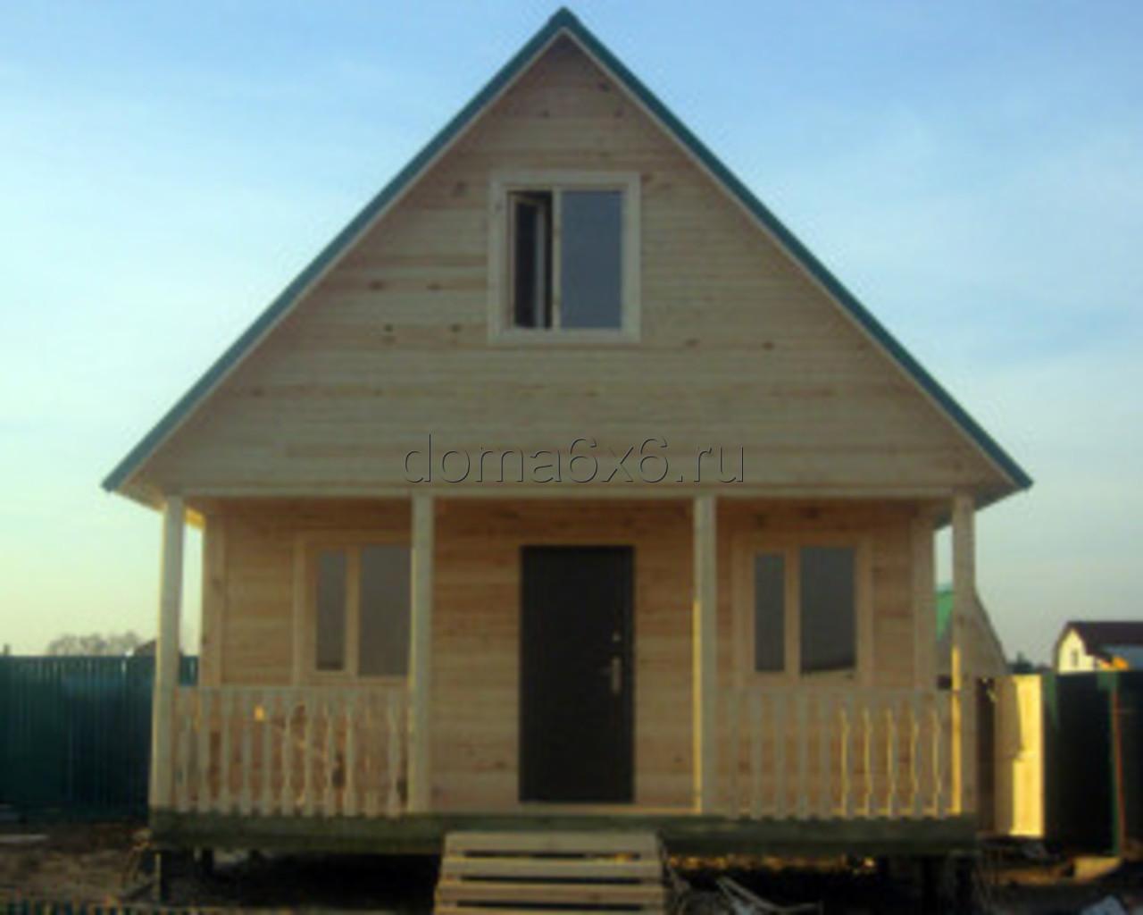 Строительство дома из бруса Марк в Лосино-Петровском - 3