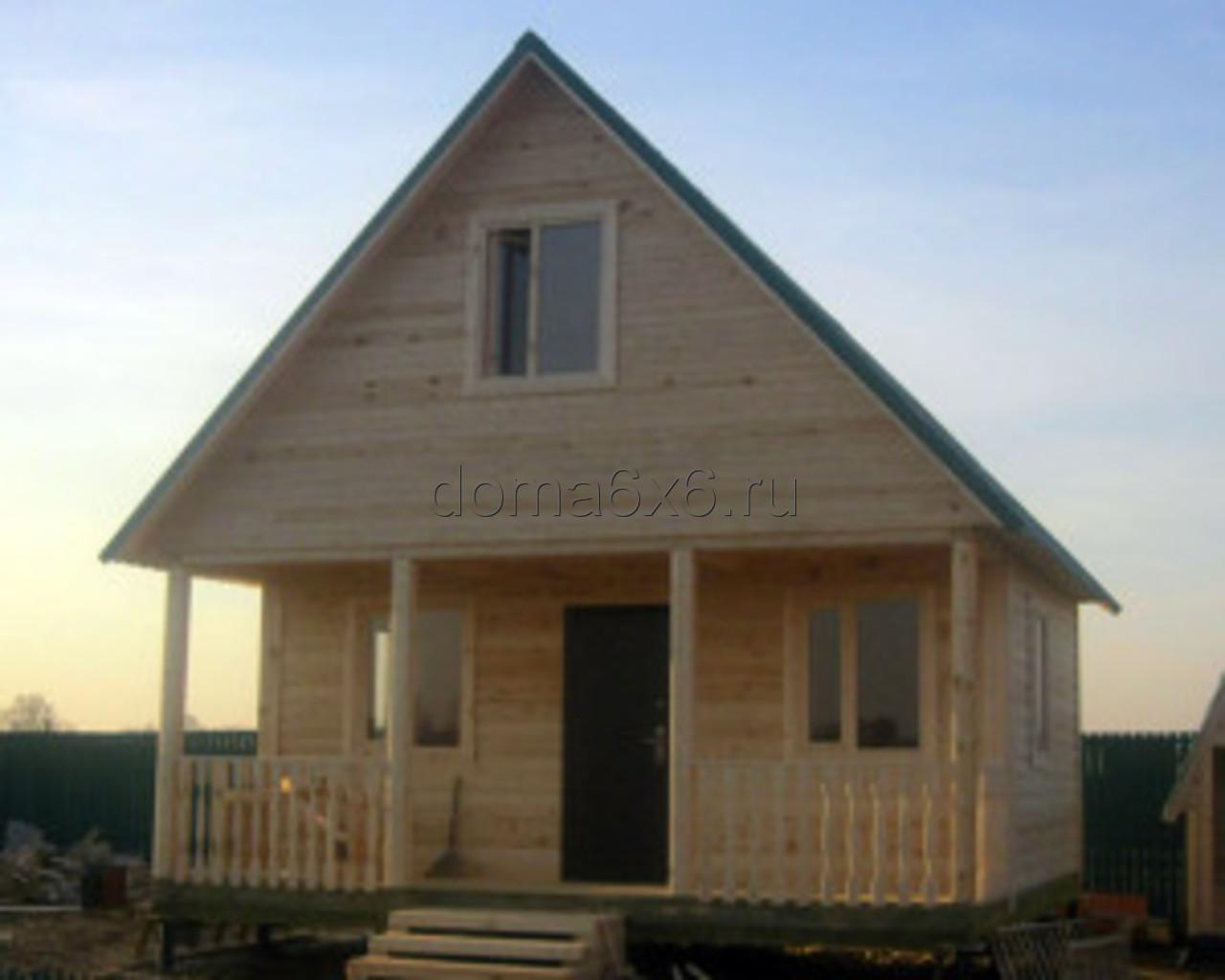 Строительство дома из бруса Марк в Лосино-Петровском - 4