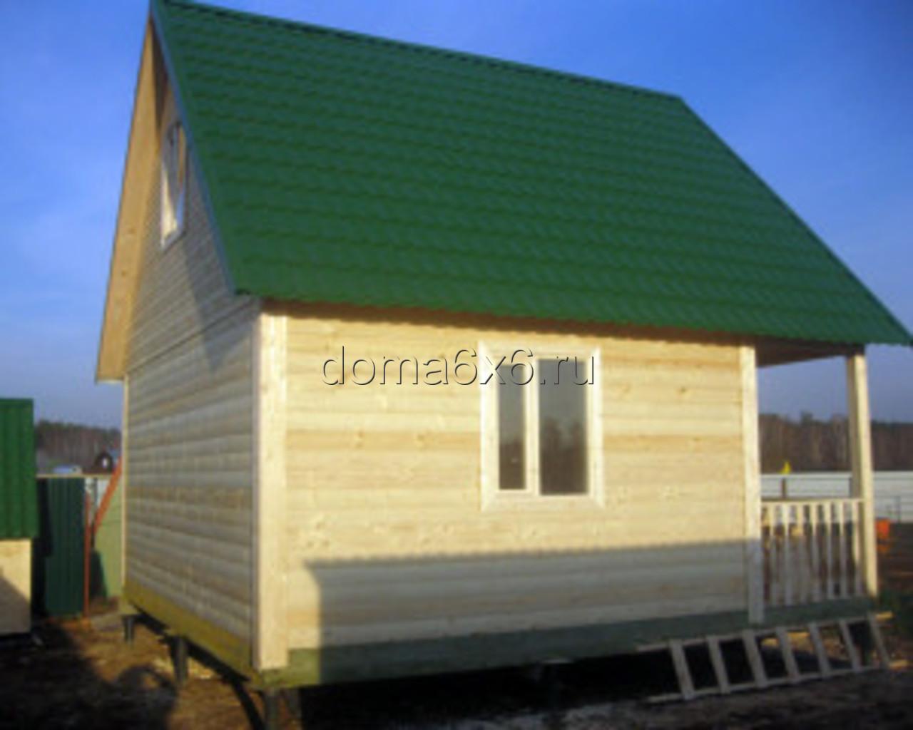 Строительство дома из бруса Марк в Лосино-Петровском - 5