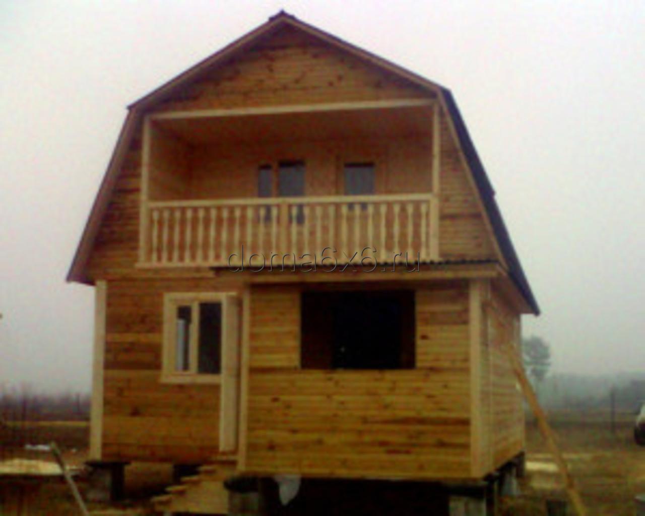 Строительство домов из бруса в Черногубово - Терентий