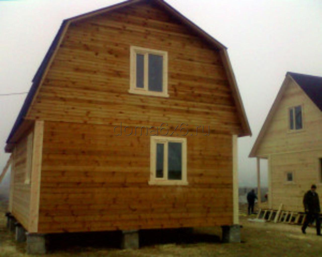 Строительство домов из бруса в Черногубово - 1