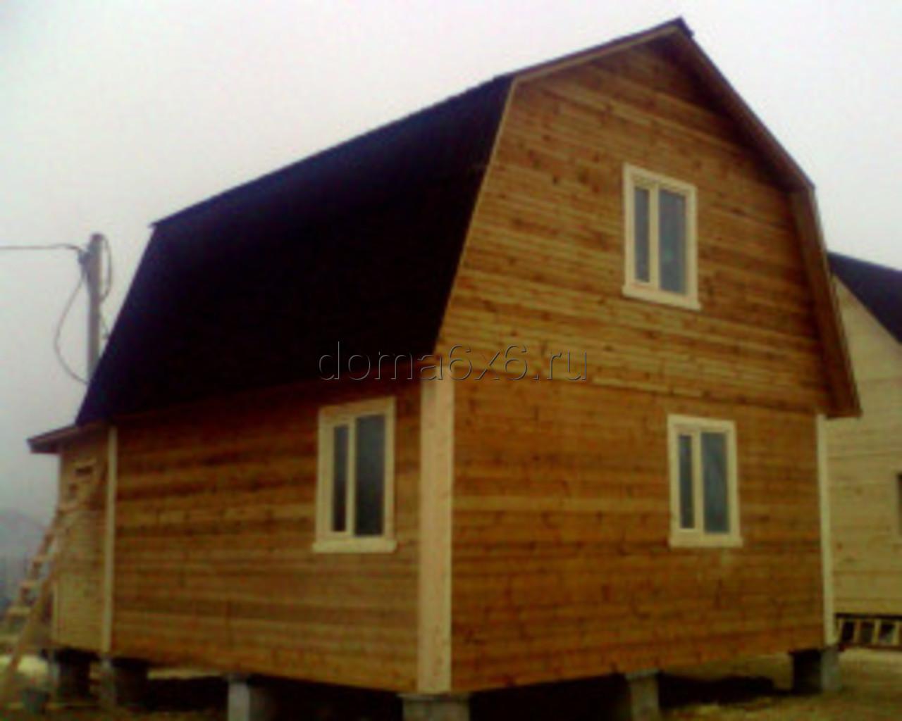 Строительство домов из бруса в Черногубово - 2