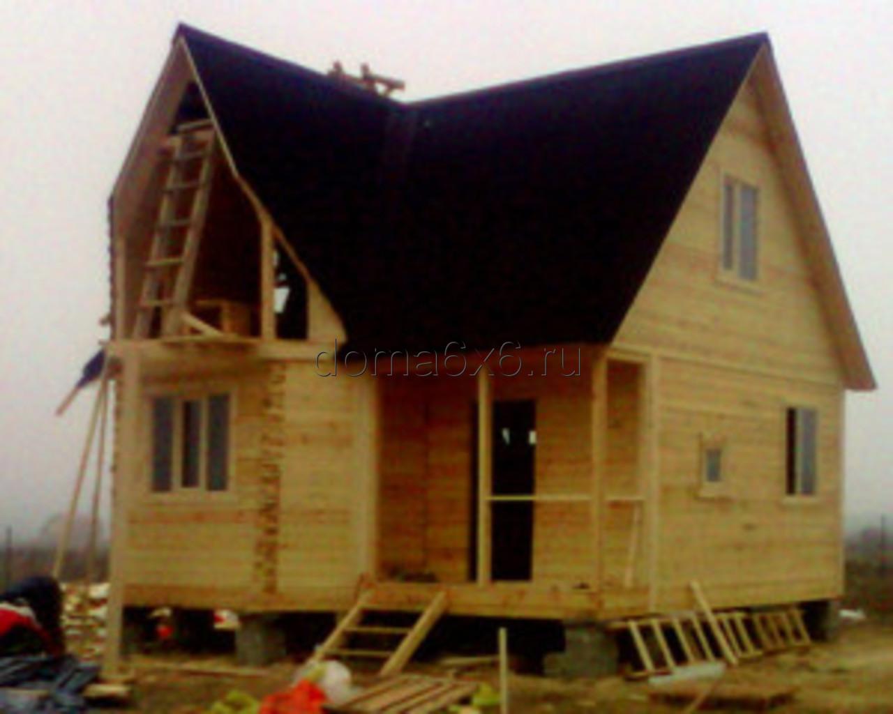 Строительство домов из бруса в Черногубово - Владислав
