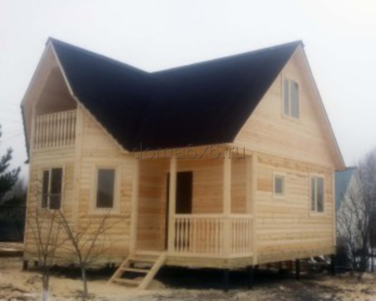 Строительство дома из бруса в Калуге - 1