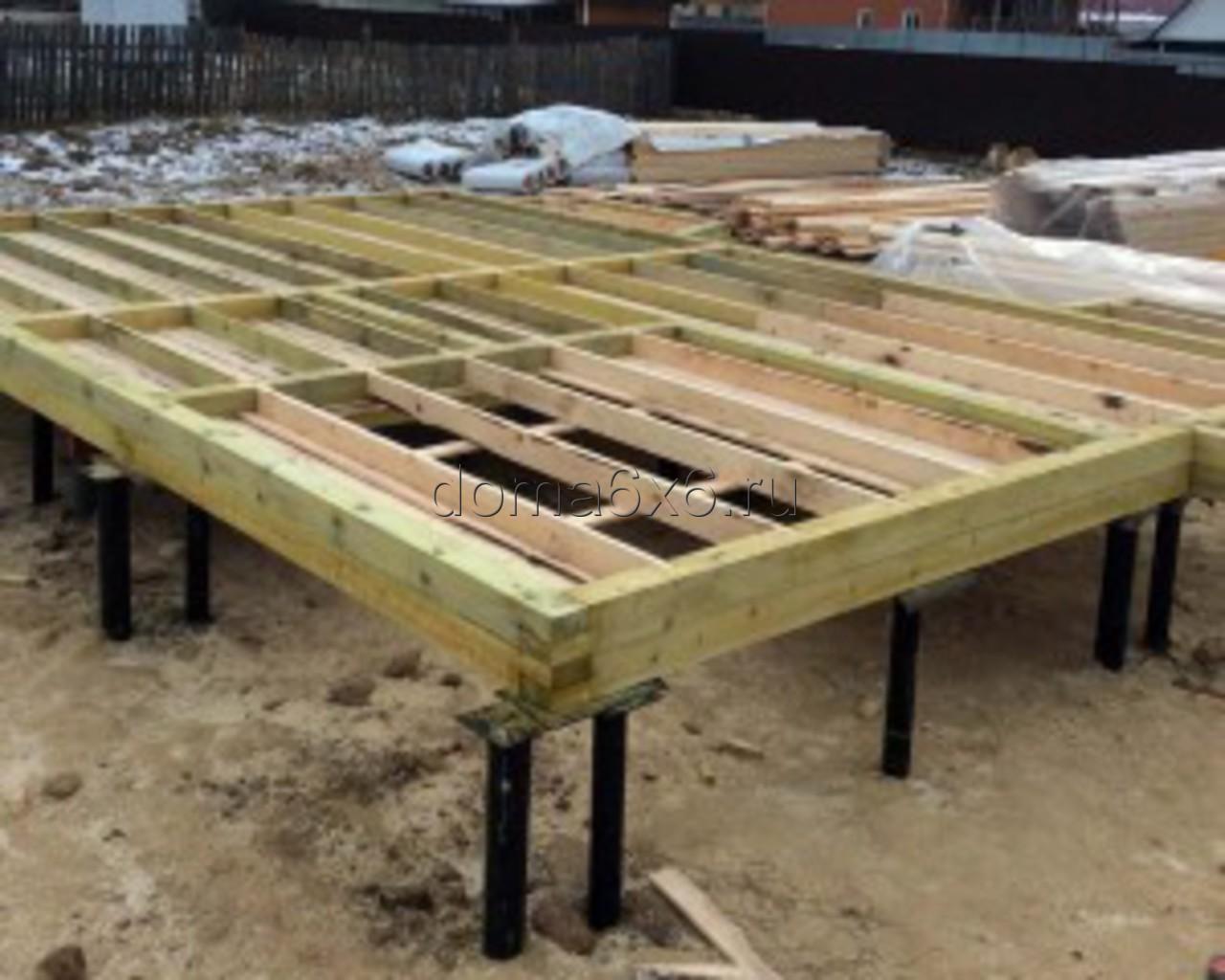 Строительство дома из бруса Валерий с дополнениями - 1