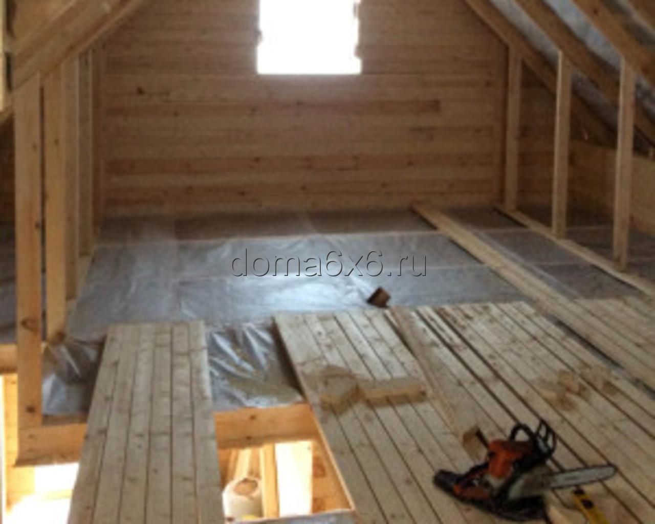 Строительство дома из бруса Валерий с дополнениями - 7