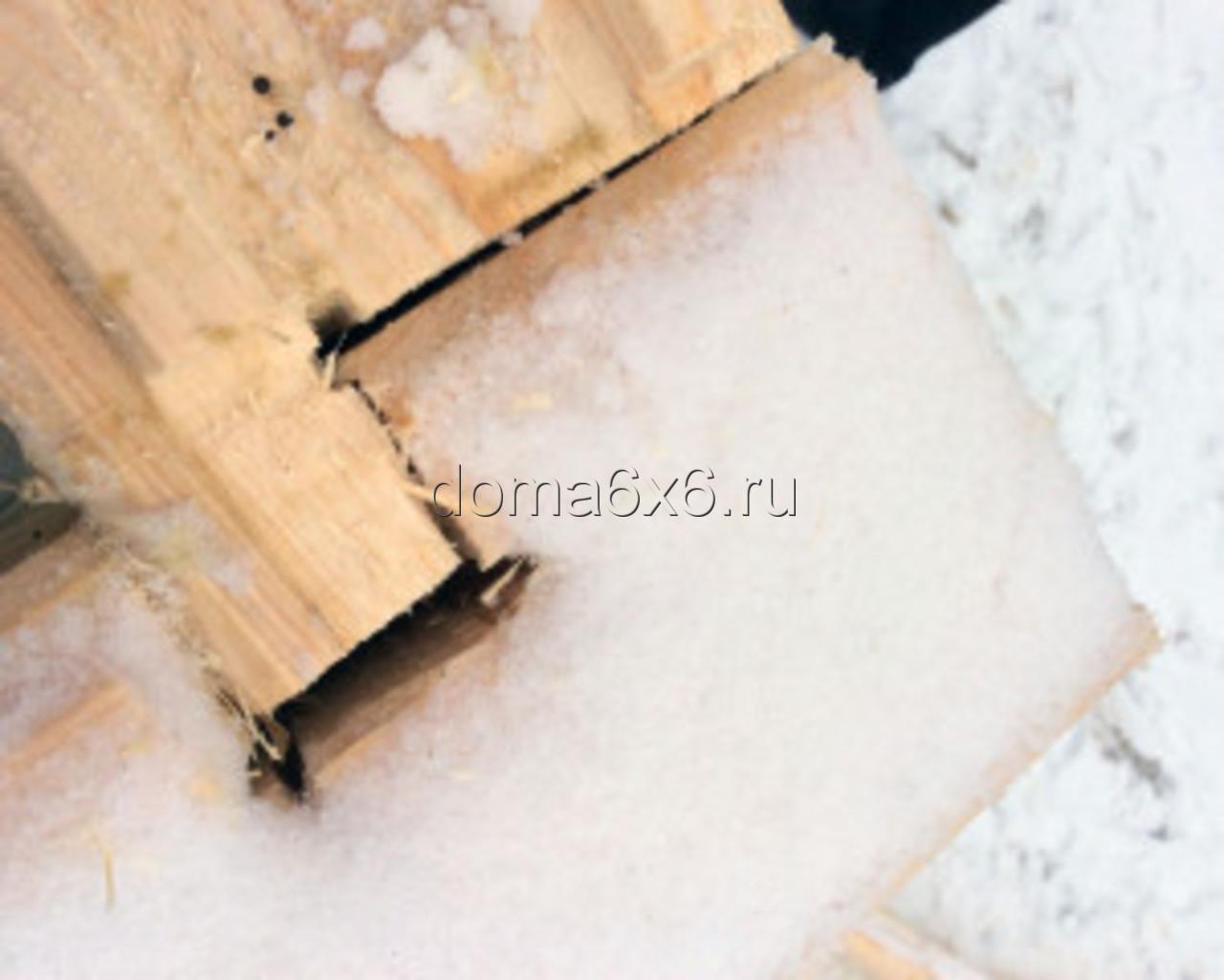 Строительство дома из бруса Валерий с дополнениями - теплый угол