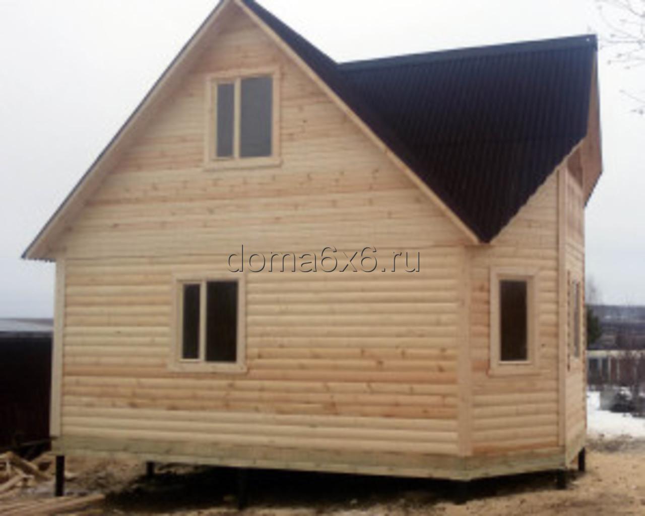 Строительство дома из бруса в Киришах - 1