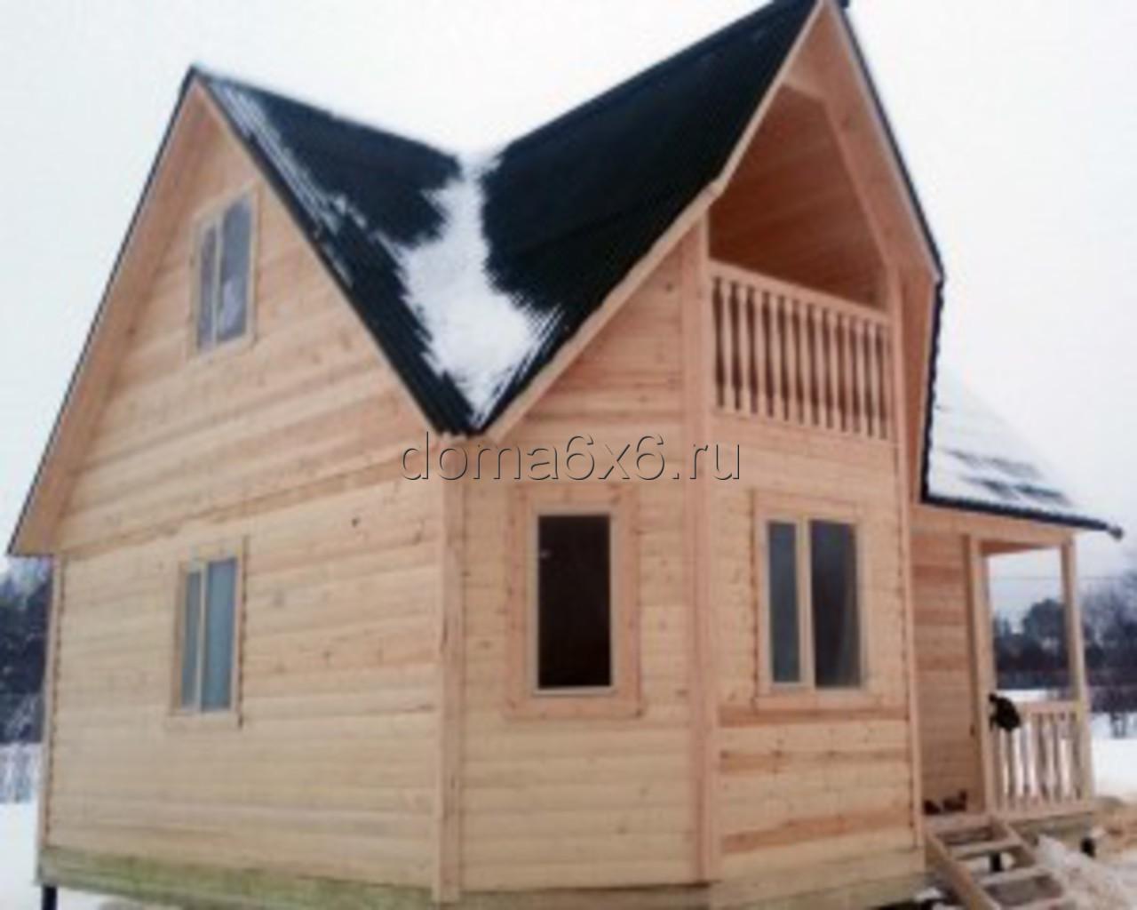 Строительство дома из бруса в Киришах - 2