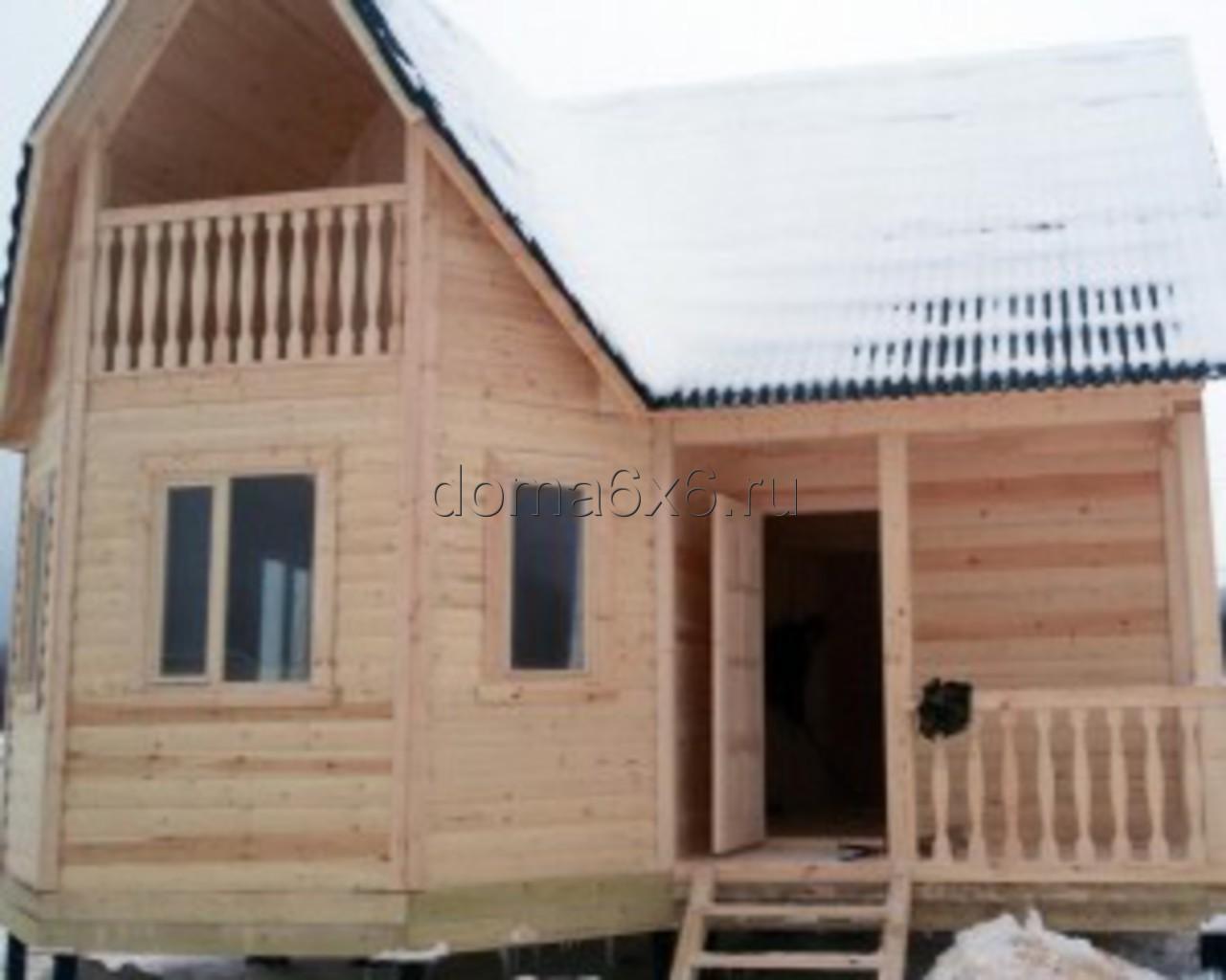 Строительство дома из бруса в Киришах - 3