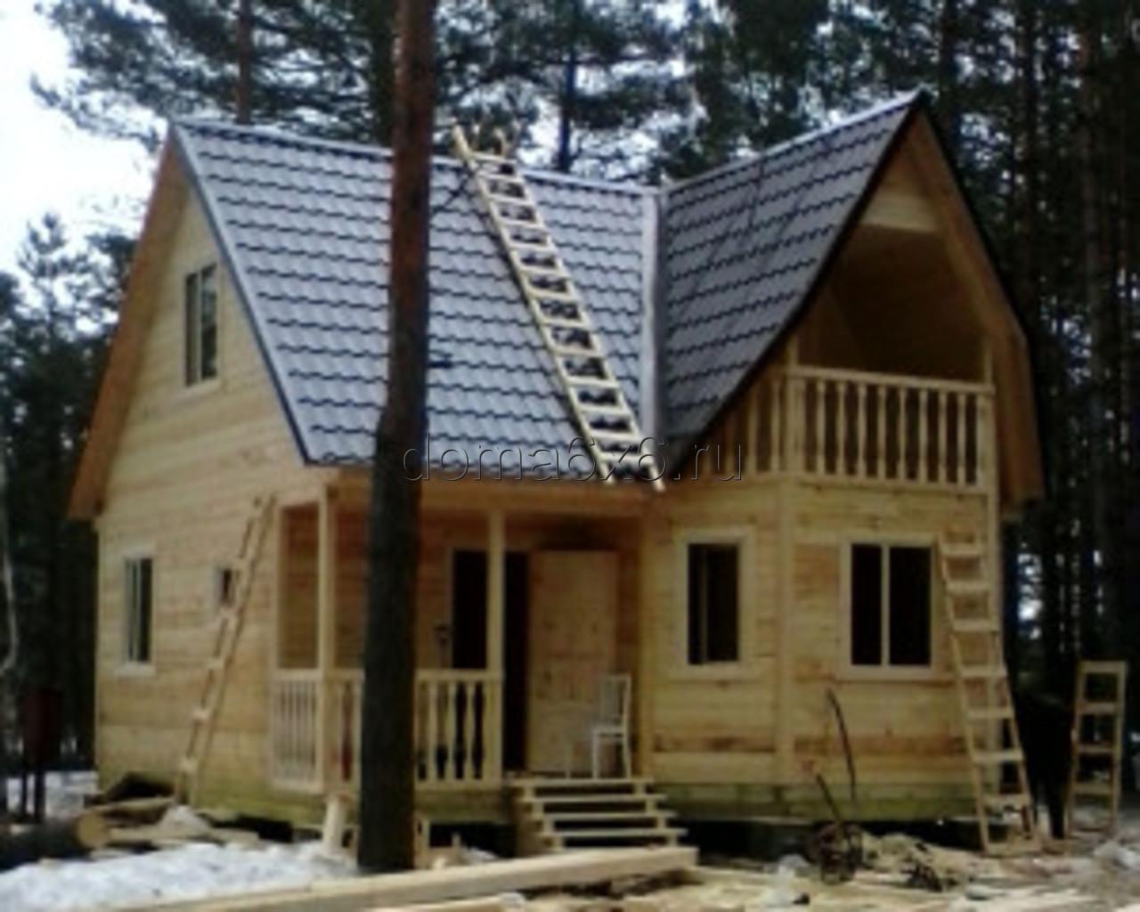 Строительство дома из бруса в Рязани