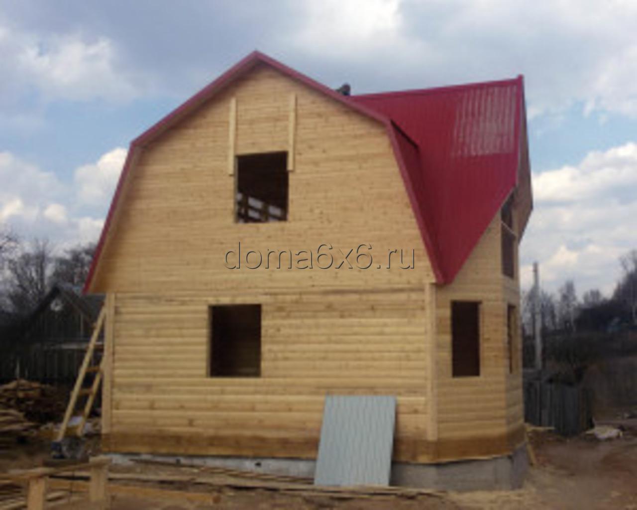 Строительство дома из бруса в Смоленске - 1