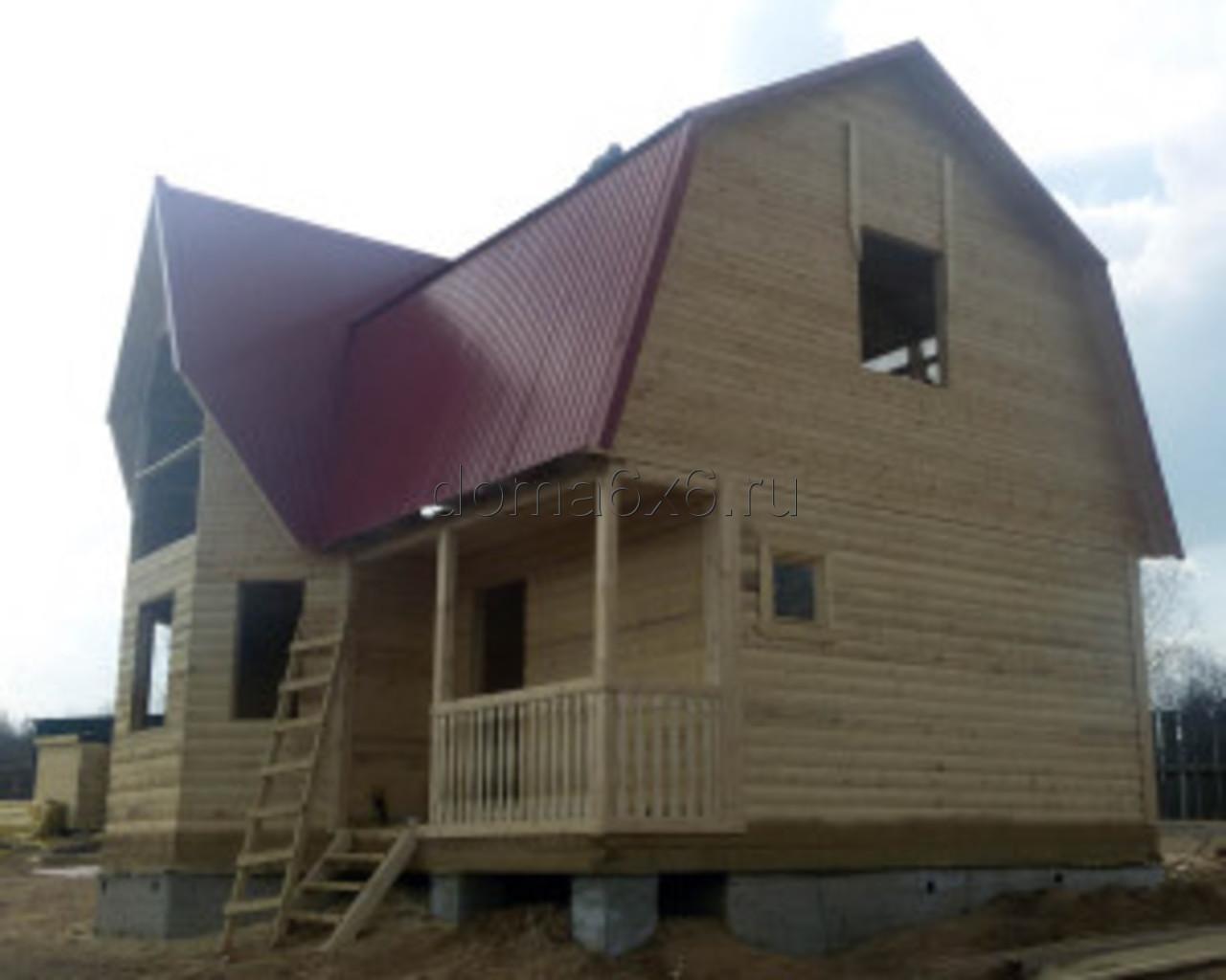 Строительство дома из бруса в Смоленске - 2
