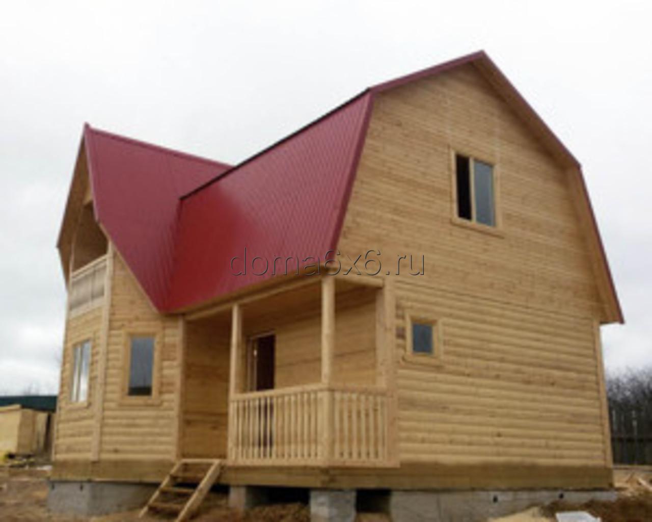 Строительство дома из бруса в Смоленске - 4