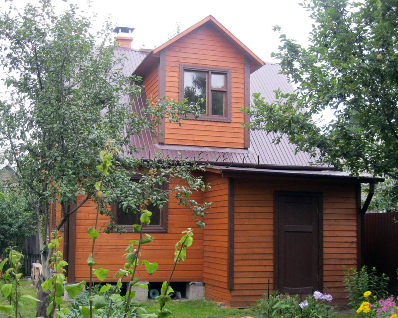 Дом из бруса 6х6 в Московской области - 1