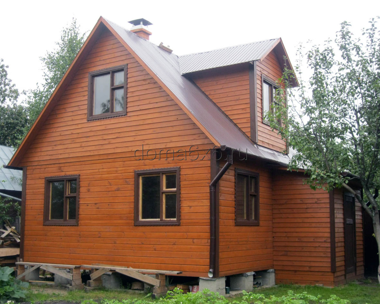 Дом из бруса 6х6 в Московской области - 2