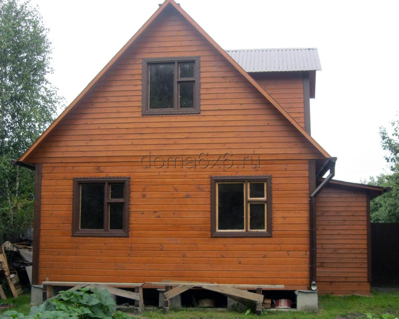 Дом из бруса 6х6 в Московской области - 3